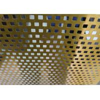 Wholesale Bright Perforated Aluminum Alloy Sheet Durable for Flooring Dewatering from china suppliers