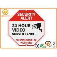 Wholesale 24 Hour Video Surveillance Camera Sign Reflective Aluminum PlateTraffic Sign Board from china suppliers