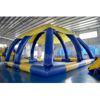 Wholesale 10mL * 10mW * 5mH Large Inflatable Swimming Pool With Tent Cover CE Approval from china suppliers