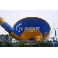 Quality Customized Colorful Tornado Water Slide for Fiberglass Safety Spray Park Equipment for sale