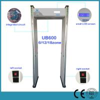 Wholesale Multi Zone Airport Security Archway Metal Detector Door , Walk Through Safety Gate from china suppliers