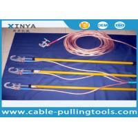 Wholesale 110 KV Earthing Device Safety Tools Electrician 220KV With Copper Wire / Ground Clip from china suppliers
