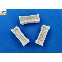 Wholesale wire to board connector with 2.00mm pitch dual row vertical type wafer connector shrouded header from china suppliers