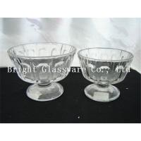 Wholesale cup of ice cream, ice cream bowl design, cheap glass bowl from china suppliers
