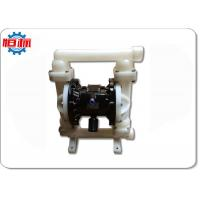 China Plastic Double Pneumatic Air Operated Diaphragm Pump For Chemical Liquid Transfer on sale