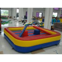Wholesale Outdoor Durable Inflatable Sports Games 0.55mm PVC Tarpaulin For Home from china suppliers