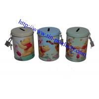 Wholesale metal coin banks, metal money box, money tin, tin money can, tin money box ,saving tin box from china suppliers