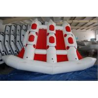 Wholesale Red 380cm Length Six Person Inflatable Flying Fish Boat With 10 Chamber from china suppliers