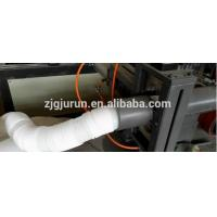 Quality PE/PVC single wall corrugated pipe extrusion line/making machine/hdpe pipe production line for sale
