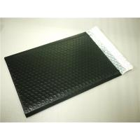 Wholesale PET Black Bubble Lined Envelopes , 6x10 Bubble Mailers Size 0 Impact Strength from china suppliers