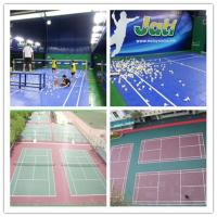 Wholesale Plastic Badminton Court Flooring / All-Weather Modular Sports Flooring from china suppliers