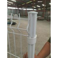 Quality Green Black Vinyl Coated Welded Wire Fencing For Sports Ground 200×50 Mm for sale