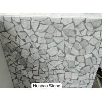 Wholesale No-resin artificial Terrazzo stone tiles fire-resistant forr floor wall vanity top from china suppliers