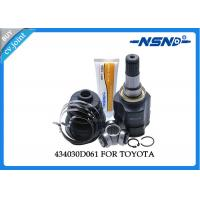 Toyota Auto Cv Joint 434030D061 Universal Dust Proof For Inner Position