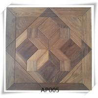Oak parquet flooring , UV lacquer,Brushed, smoked, 15/4*600*600mm