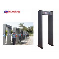 Wholesale High Sensitivity  Walk Through Metal Detector for factory use and access control from china suppliers