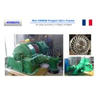 Wholesale Medium Head Impulse Turgo hydro Turbine / Turgo water turbine with synchronous Generator from china suppliers