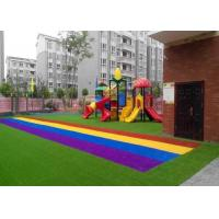Wholesale Anti UV Autumn Spring Coloured Artificial Grass Synthetic Turf SGS CE Certification from china suppliers