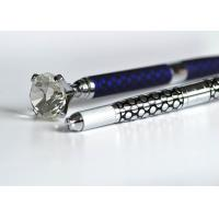 Wholesale Multi-function Micoblading Pen With Big Diamend-Silver / Blue Standby Head inside from china suppliers