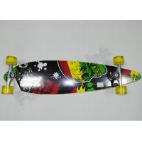 Quality Fish Shape 7ply Children Canadian Maple Wood Skateboards with Aluminum Truck for sale