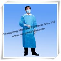 Wholesale Sterile Surgical Gown Fluid Resistant Lab Coats Surgeon Protection With Knit Sleeves from china suppliers