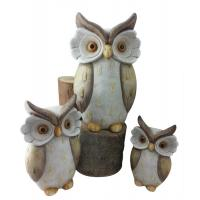 Wholesale Lovely Hand Cast Clay Garden Animal Statues For Home Decoration from china suppliers