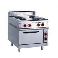 Stainless Steel Kitchen Commercial Baking Ovens , Industrial Bakery Ovens With Cabinet