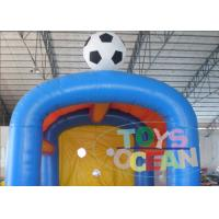 Wholesale Commercial Grade Inflatable Sport Game / Inflatable Football Shooting Attractive Games from china suppliers