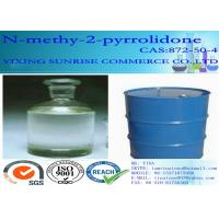 Wholesale N Methyl 2 Pyrrolidone Synthetic Organic Polymer CAS 872-50-4 With Low Viscosity from china suppliers