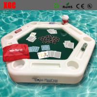 Wholesale Plastic Made Luminous Swimming Pool Floating Poker  Table from china suppliers