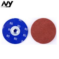 """Quality 3m 2"""" Quick Change Abrasive Discs , Round 120 Grit Roll Lock Type R Quick Change for sale"""
