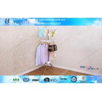 Wholesale Modern Floor Standing Towel Rack , Metal Hanging Clothes Rack for Baby Clothing from china suppliers