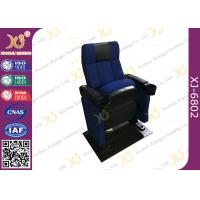 Wholesale SGS Foldable Metal Frame Movie Theater Seats With High Density Molded Foam from china suppliers