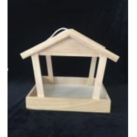 BSCI Certified Wooden Bird Feeders / Wooden Bird House Kits Primary Color Finishing