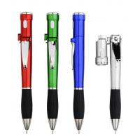 Buy cheap multifunctional promotional gift ball pen, led light plastic pen with nail cutter from wholesalers
