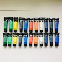 Wholesale Artist's Acrylic painting Color Value Series 100ml & 75ml Phoenix from china suppliers