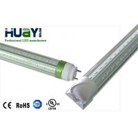 Wholesale G13 Ra80 22W 4FT 4000K 48 Inch V T8 LED Tube Light Double PCB For Hotels / Schools from china suppliers