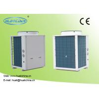 Wholesale 8~39 kw R410a High Efficiency Heat Pump Swimming Pool Blue Aluminum Fins Color Steel Plate Heat Pump from china suppliers