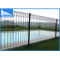 Wholesale Powder Coated Fencing Panels Security For Garden , Temporary Metal Fencing from china suppliers