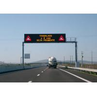 Wholesale Clear Vivid Image  LED Highway Road Signs Spin Lock Easy To Install Pixel Pitch 20mm from china suppliers
