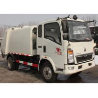 Wholesale Waste Disposal Vehicles Garbage Collection Truck , Compressed Refuse Compactor Truck from china suppliers
