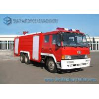 Wholesale 6X4 12000L Water Fire Fighting Trucks 360hp FAW Chassis Double Row Cabin from china suppliers