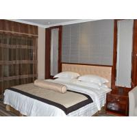 Wholesale Custom Rosewood Veneer Commercial Hotel Furniture Strong Modern Bedroom Set from china suppliers
