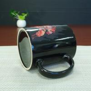 Quality Best Selling Dragon Ball Color Changing Mug Red Goku Magic Mug 300ml / 11OZ for sale