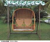Wholesale PE rattan hanging chair, synthetic rattan swing chair, #1120 from china suppliers