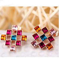 Wholesale Ref No.: 405029 Admiration Light Elements Swarovski earrings gold Elements Swarovski lighting best wholesale fashion jew from china suppliers