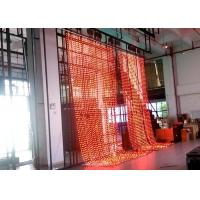 Wholesale Indoor Full Color Curtain Flexible LED Display Wireless Programmable 10MM from china suppliers
