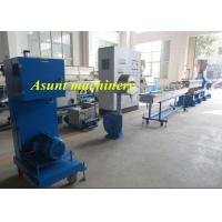 Wholesale PET Bottle Flakes Pelletizing Extrusion Machine 100-500kg/H Capacity Single Screw from china suppliers