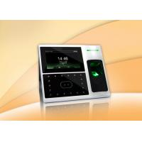 Quality Electronic Facial Recognition Time Attendance System , Face Attendance Machine with TCP/ IP for sale