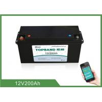 Wholesale High Rate Discharge 12V 200Ah Bluetooth Lithium Battery Lifepo4 Cells from china suppliers